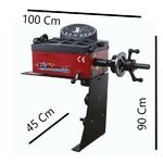Dimensions équilibreuse de roue manuelle combiné
