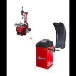 Pack Machine Démonte Pneu 24 Pouces + Équilibreuse de roue automatique Pro 220V