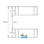 dimensions rampes pont élévateur ciseaux 3t 220 volts