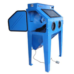 cabine de sablage microbilleuse 350 litres