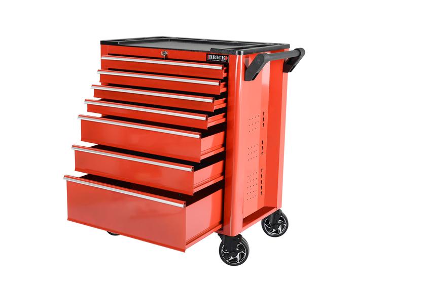 Servante d 39 atelier 7 tiroirs vide outillage automobile for Courroie de distribution garage pas cher