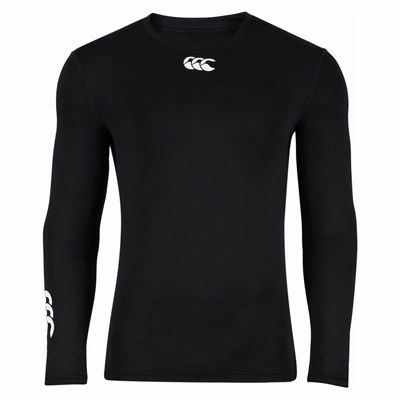 Sous-Vêtement Canterbury Cold Long Sleeve Top Noir