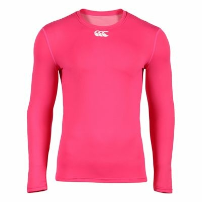 Sous-Vêtement Canterbury Cold Long Sleeve Top Pink