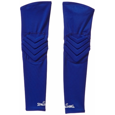 Manchon de compression shooting sleeves renforcées Bleu roi Spalding