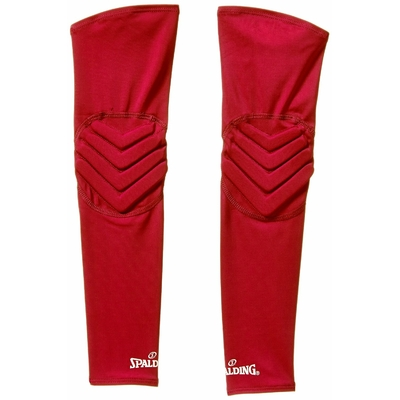 Manchon de compression shooting sleeves renforcées Rouge Spalding