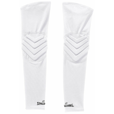 Manchon de compression shooting sleeves renforcées Blanc Spalding