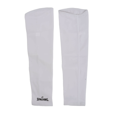 Manchon de compression shooting sleeves Blanc Spalding
