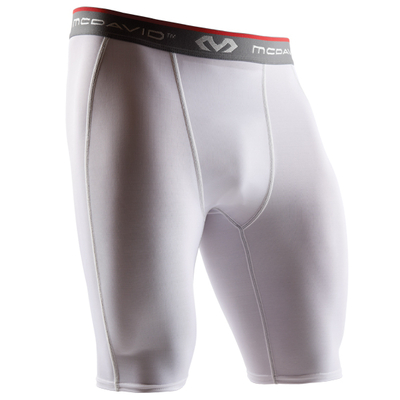 Short de compression hDc homme Blanc Mc David