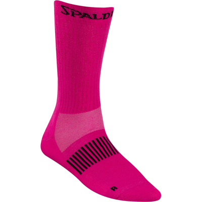 Chaussettes Spalding Rose Fluo