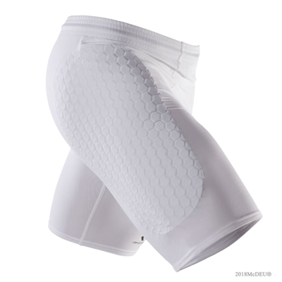 Short de Protection Hex Striker Blanc McDavid