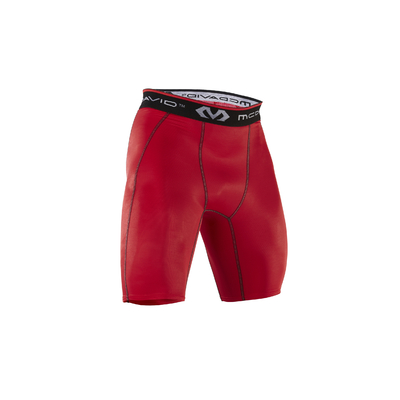 Short de compression hDc homme Rouge McDavid