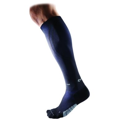 Chaussettes de compression running ACTIVE Noir/marine Mc David