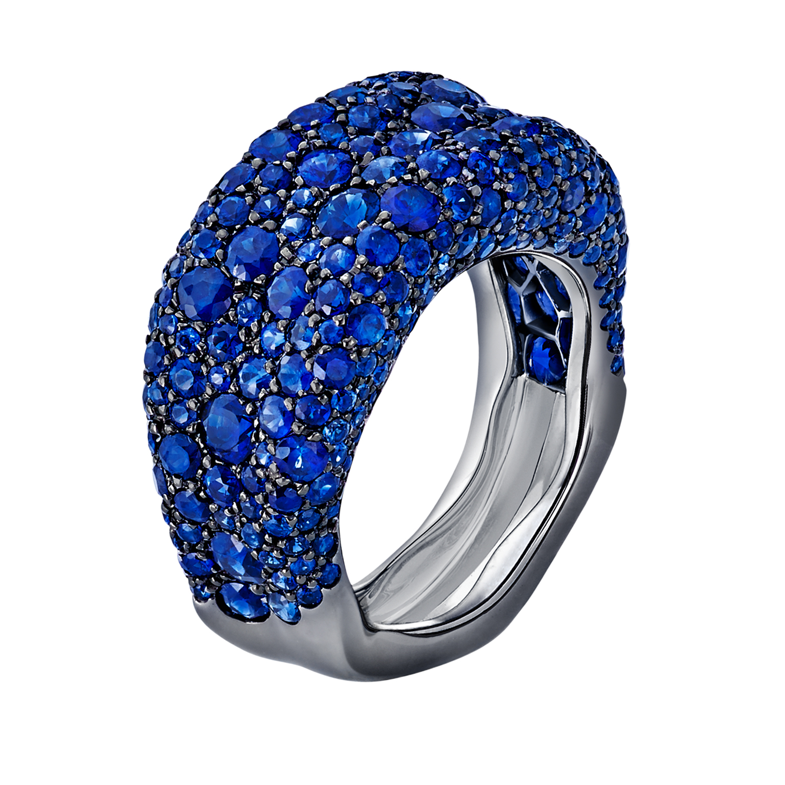 FABERGÉ EMOTION SAPPHIRE THIN RING