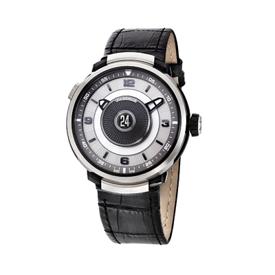 Fabergé Dual Time Zone 18Kt white gold watch