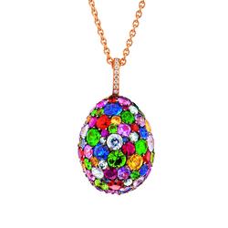 Fabergé Emotion Multi-coloured Pendant