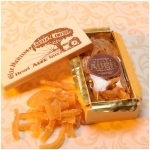 Crystallized Lemon Peels Wooden Box