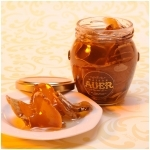 Candied Ginger in glass pot