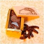 Chocolate Orange Peels Wooden Box