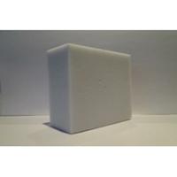 Mousse de mélamine - Plaque de 2500x1250, Epaisseurs en mm :  5, 10, 20, 25, 30, 40, 50. vendu par colis de 12 à 120 plaques.