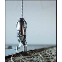Câbles crochets en kit ( 4 pièces par sachet) longueurs : 1m / 2m / 3m