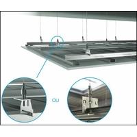 Suspensions pour ossatures primaires de faux plafond ( 10 pièces par sachet)