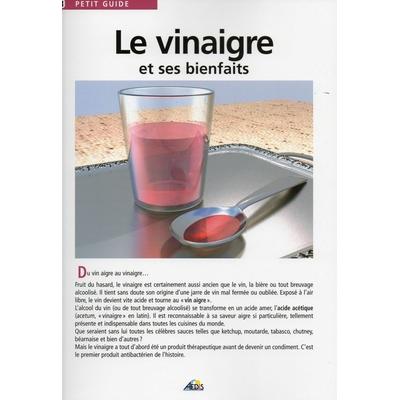 """Fascicule """"Le Vinaigre et ses Bienfaits"""""""