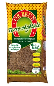 Or Brun ® - Terre végétale 25 kg