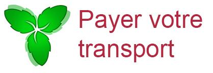 Payer votre transport
