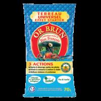 Or Brun ® - Terreau universel Père François 3 Actions 40 L