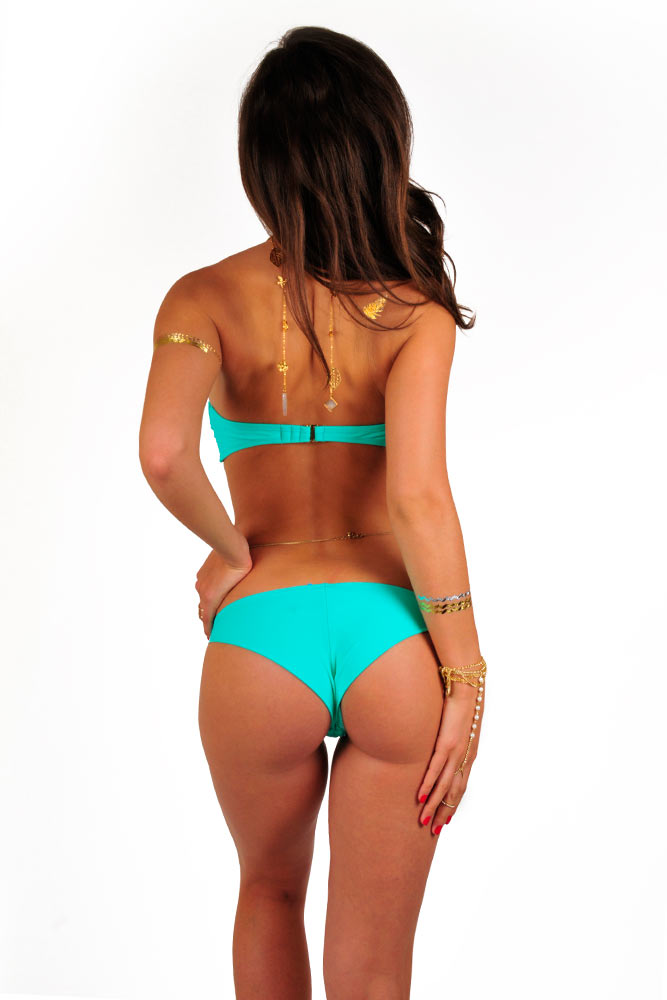 Bikini Verde - Costumi due pezzi Verde | Monpetitbikini.it
