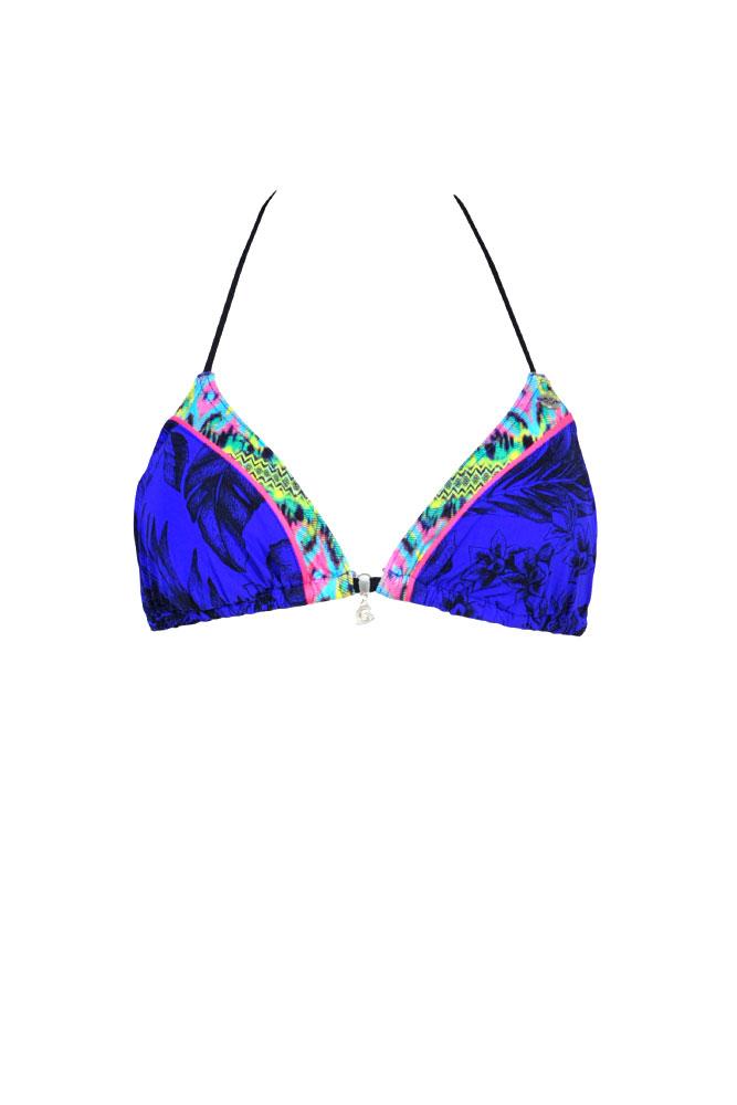 Costume a triangolo mindanao blu pezzo di sopra costumi da bagno costumi a triangolo www - Marche costumi da bagno ...
