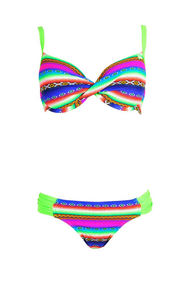 Costume due pezzi coppa d fluo bikini donna di tendenza 2016 - Costumi da bagno coppa d ...