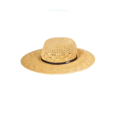 Cappello da spiaggia beige naturale Kittles Hatsy