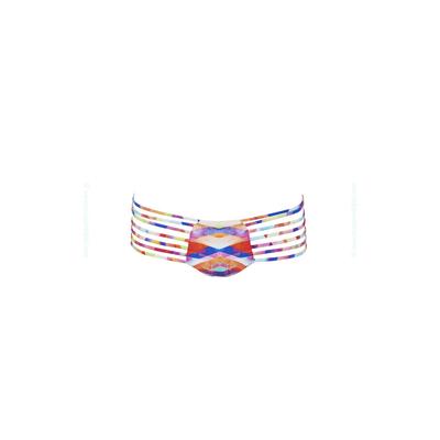 Costume multicolore a stringhe Prismatic (pezzo sotto)