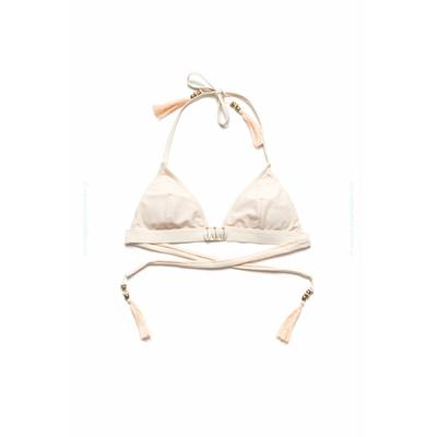 Pezzo di sopra Amenapih by Hipanema - Bikini triangolo Beauty bianco crema