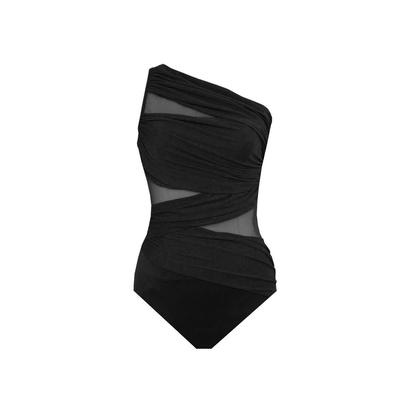 Costume avvolgente nero Jena