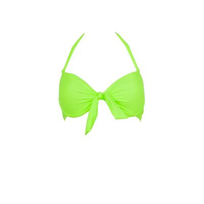 Mon Push-up Bikini - Costume da bagno a balconcino verde fluo (Pezzo di sopra)