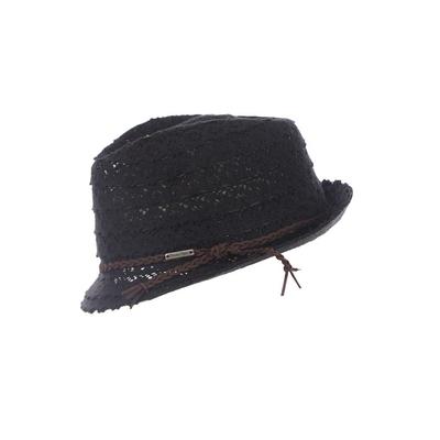 Cappello da spiaggia nero Fullsun Hatsy
