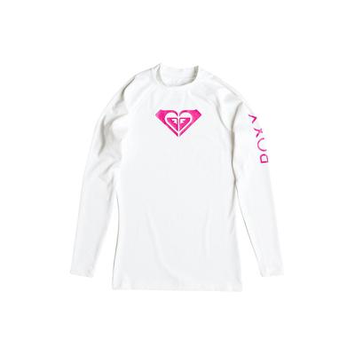 T-shirt Lycra maniche lunghe WholeheartLs bianca