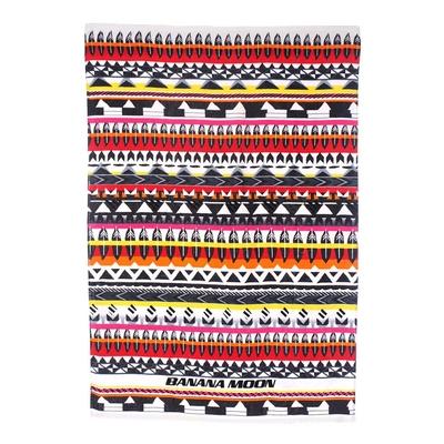 Telo da mare rosso multicolore Wood Towely