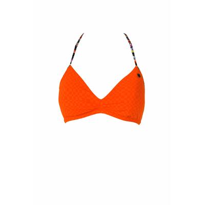 Costume da bagno arancione Flinders (Pezzo sopra)