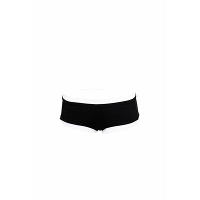 Costume da bagno a pantaloncino nero Block Party (pezzo di sotto)