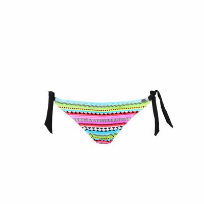 Slip di costume con fiocchi multicolore Hanami (Pezzo sotto)