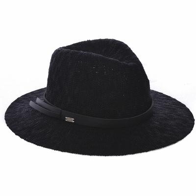 Cappello da spiaggia nero Hatsy