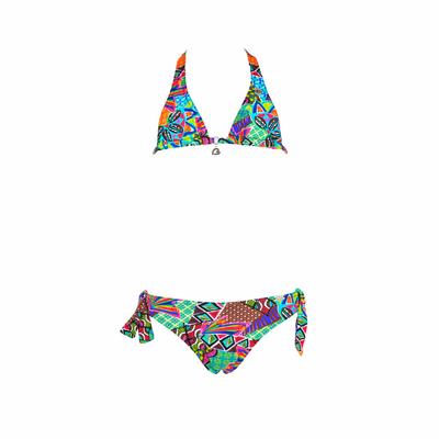 Bikini multicolore per ragazza Habanera