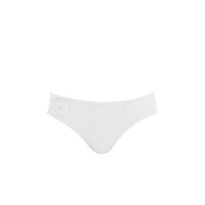 Slip di costume bianco (Pezzo sotto)