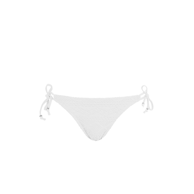 Slip di costume con nodi bianco Sundance (Pezzo sotto)