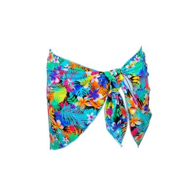 Pareo multicolore stampa tropiacale Maranhao