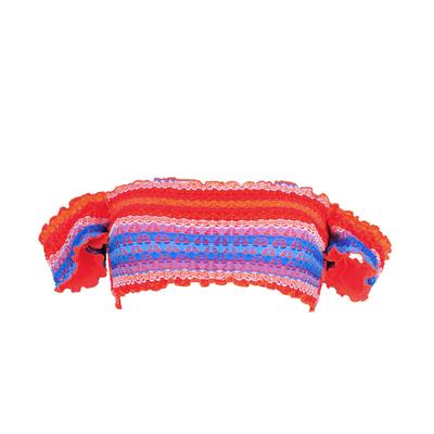 Costume a fascia multicolore Havana Stripe (Pezzo sopra)