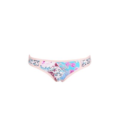 Slip di costume da bagno con stampa multicolore Ocean Rose (Pezzo sotto)